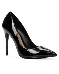ALDO | Black Stessy High Heel Courts With Pointy Toe | Lyst