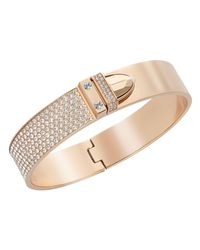 Swarovski | Metallic Distinct Bangle | Lyst