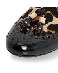 Dune - Multicolor Loki Brogues Tassel Detail Loafers - Lyst