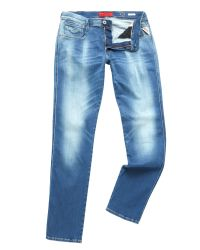 Replay | Blue Hyperflex Anbass Slim Fit Jean for Men | Lyst