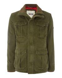 Tommy Hilfiger Green Jaxon Jacket for men