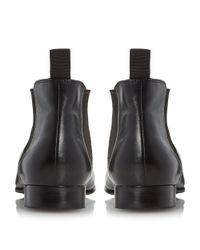 Dune Black 'murray' Formal Chukka Boots for men