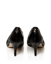 Moda In Pelle Black Cambria Medium Smart Shoes