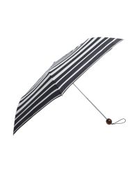 Fulton - Black Bold Stripe Superslim Umbrella - Lyst