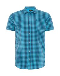 Duck and Cover | Blue Farley Ss Shirt for Men | Lyst