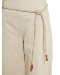 Sarah Pacini Natural Large Pants Chloé