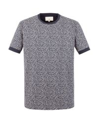 Racing Green | Blue Oliver All Over Print T-shirt for Men | Lyst