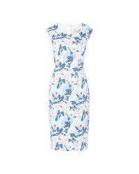 L.K.Bennett Blue Dena Dress