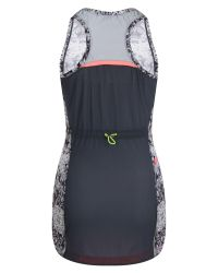 ELLE Sport | Black Printed Lightweight Mesh Back Singlet | Lyst
