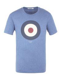 Ben Sherman | Blue Target Tee for Men | Lyst