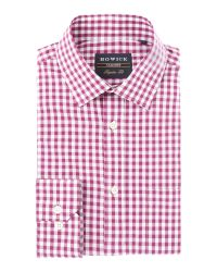 Howick   Pink Sumit Gingham Shirt for Men   Lyst