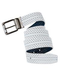 Nike | White Perforated Reversible Belt for Men | Lyst