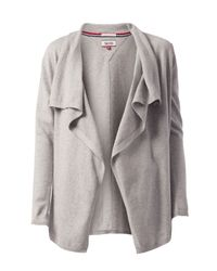 Tommy Hilfiger | Gray Basic Cardigan | Lyst