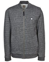 Pretty Green | Black Ranford Zip Sweater for Men | Lyst