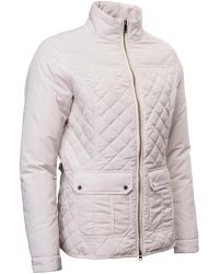 Abacus | Natural Holmen Quilted Jacket | Lyst
