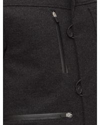 Victorinox Black Masonry Swiss Workers Coat for men