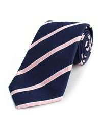 Thomas Pink | Blue Sudbury Stripe Woven Tie for Men | Lyst