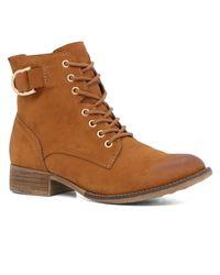 ALDO | Brown Germanie Lace-ups Boots | Lyst