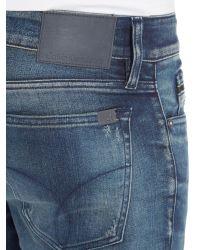 Calvin Klein Blue Skinny - Chalk Board Jeans for men