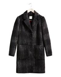 Sandwich - Black Tailored Coat - Lyst