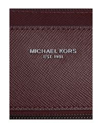 Michael Kors | Multicolor Harrison Zip Top Saffiano Leather Briefcase for Men | Lyst