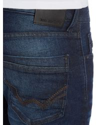 Duck and Cover Blue Boxsir Straight Jeans for men