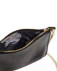 Ted Baker Black Becklia Leather Cross Body Bag