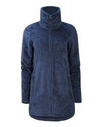 Bench | Blue Returning Zip Thru Jacket | Lyst