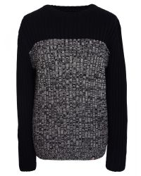 Pretty Green   Black Warley Crew Neck Sweater for Men   Lyst
