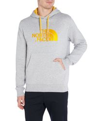 The North Face Gray Drew Peak Pullover Hoody for men