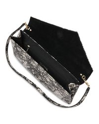 L.K.Bennett Black Leonie Clutch Bag