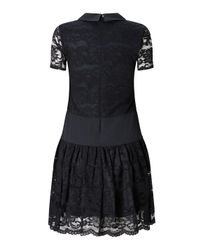James Lakeland Black Lace Dress
