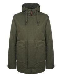 Pretty Green Green Whitworth Jacket for men