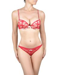 By Caprice - Red Anna Graduated Padded Bra - Lyst