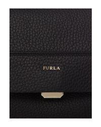 Furla Black Capriccio Medium Bag With Top Handle