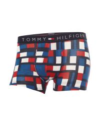 Tommy Hilfiger | Blue Icon Flag Abstract Print Trunk for Men | Lyst
