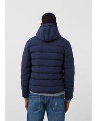 Mango Blue Lightweight Feather Down Jacket for men
