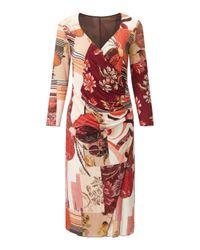 James Lakeland | Pink Rose Print Dress | Lyst