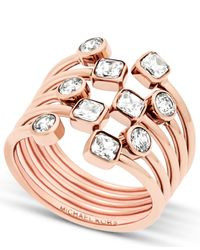 Michael Kors - Multicolor Mkj6016791 Ladies Ring - Lyst