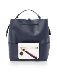 Tommy Hilfiger | Blue Love Tommy Backpack | Lyst
