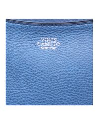 Vince Camuto Blue Fargo Satchel Bag