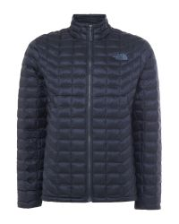 The North Face | Blue Thermoball Full Zip Packable Jacket for Men | Lyst