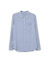 Mango Blue Printed Shirt for men