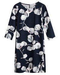 Sandwich | Blue Bold Print Dress | Lyst