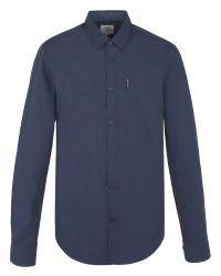 Ben Sherman | Blue Ls End On End Shirt for Men | Lyst