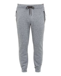 Ted Baker   Gray Clube Jersey Cuffed Trousers for Men   Lyst