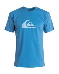 Quiksilver | Blue Classic Everyday T-shirt for Men | Lyst