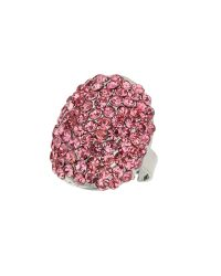 Mikey   Pink Oval Ring   Lyst