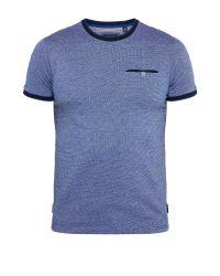 Ted Baker   Blue Richie Crew Neck Cotton T-shirt for Men   Lyst