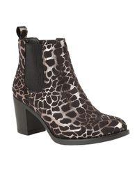 Lotus - Metallic Ennis Ankle Boots - Lyst